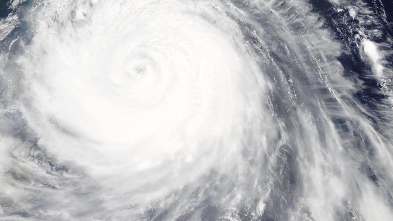 NASA台風画像